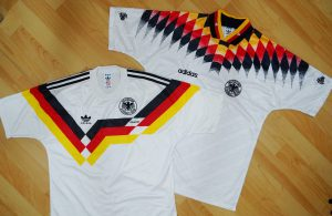 (B-2.) Germany(Deutschland) Football Classic Jersey 1990 & 1994 (德國國家足球隊經典球衣)